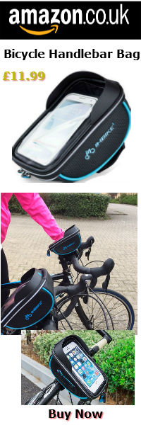 cycle handlebar bag on amazon