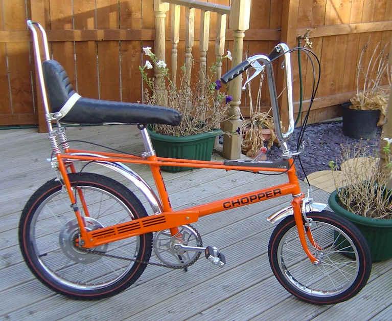 The Icon Raleigh Chopper Bicycle Shopinmkshopinmk