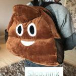 customers love our poop emoji bag