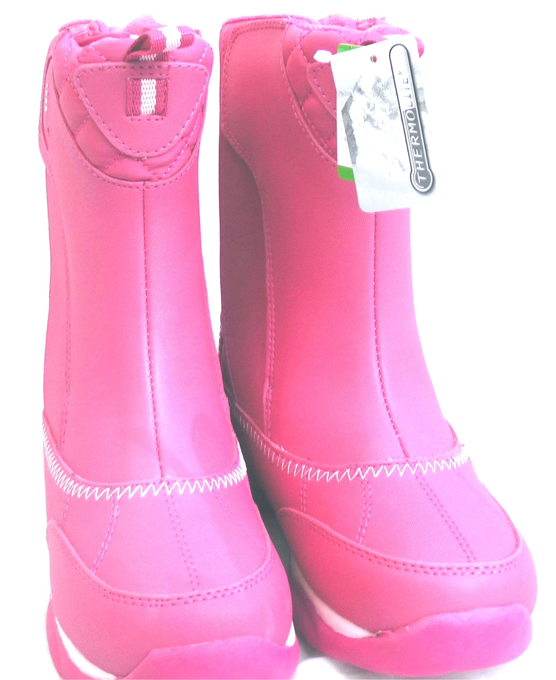 pink snow boots kids
