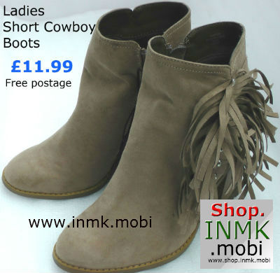 cowboy boots with tassels